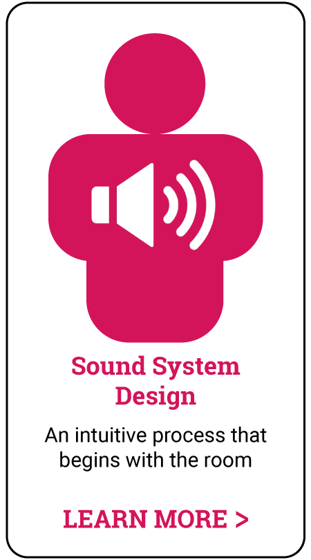 in-person audio training - sound system design