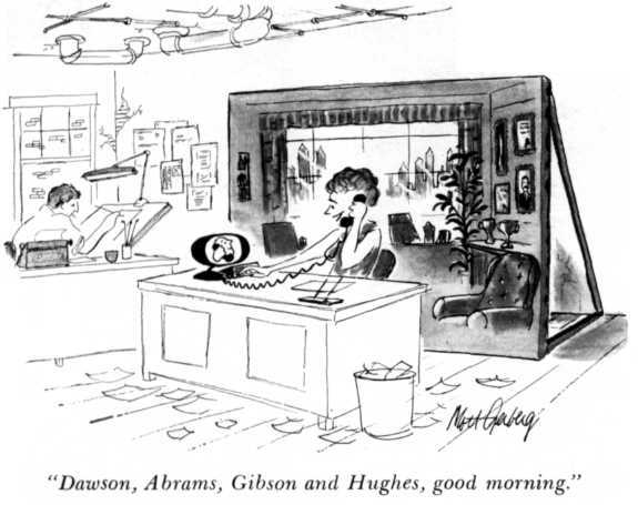 Videoconferencing Cartoon