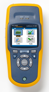 A stand-alone tester for network troubleshooting (courtesy Fluke)
