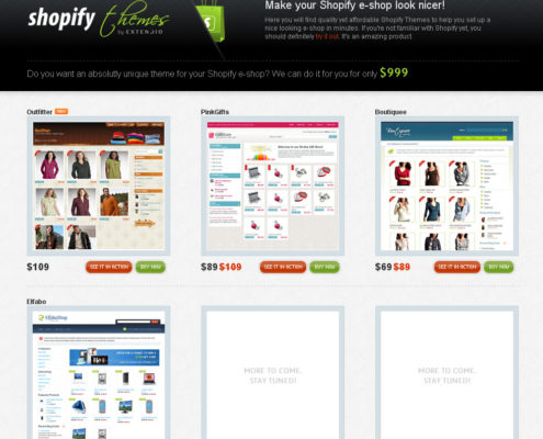 Shopify theme screenshot