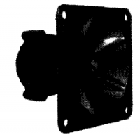Photo of a Piezo Tweeter used to set gain structure