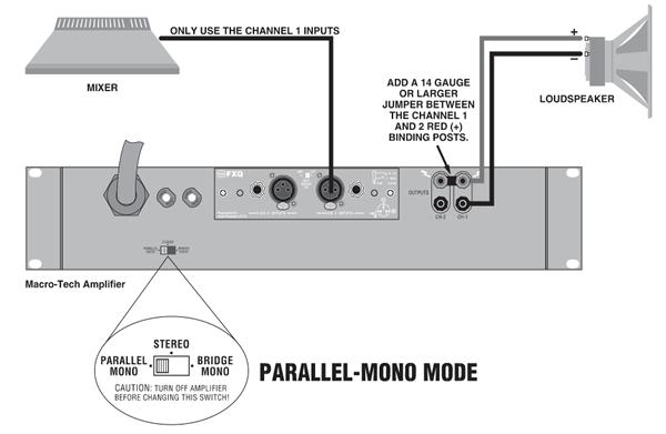 Parallel Wiring In Bridge Mode