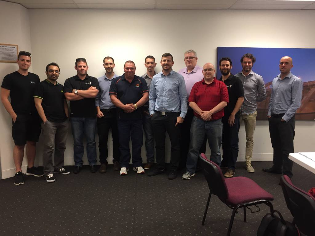 Core Principles of Audio Class Photo November 2016, Brisbane