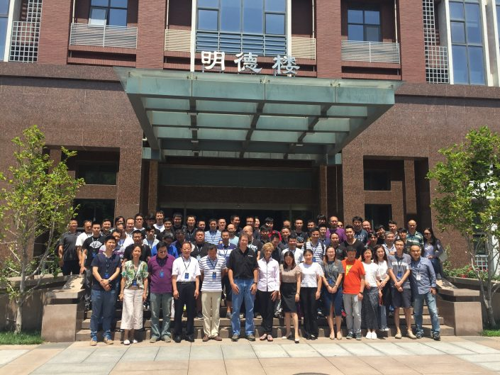 Class Photo Beijing China 2017