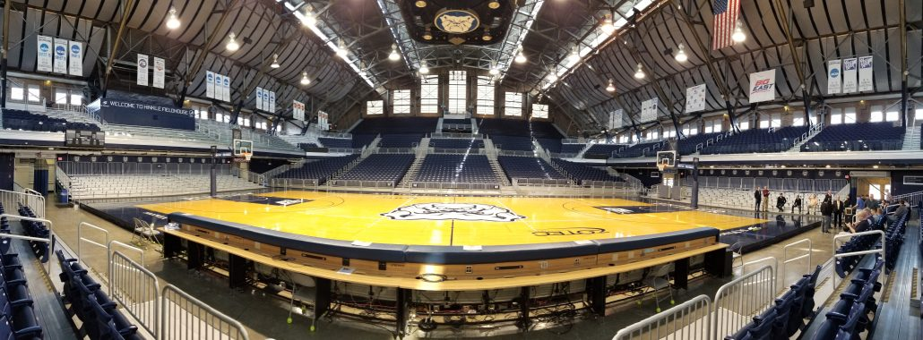 Driving 4 ohm Load: Hinkle Fieldhouse
