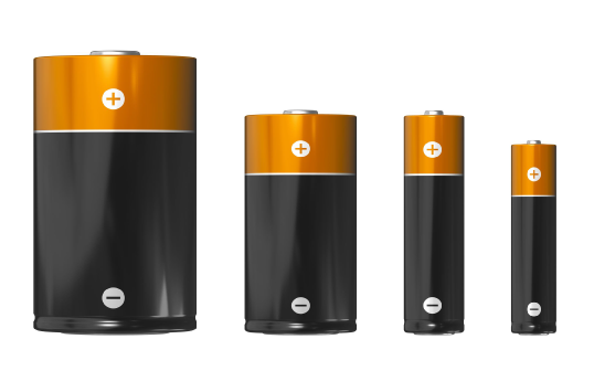 "Figure 3 - All of these batteries can produce 1.5 VDC. The difference is into ""what load"" and ""for how long?"" This is why they are rated in mAH (milliamp-hours). Somehow audio power amplifiers have evaded this detail."
