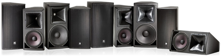 Figure 12 - Family of point source loudspeakers, courtesy of JBL.
