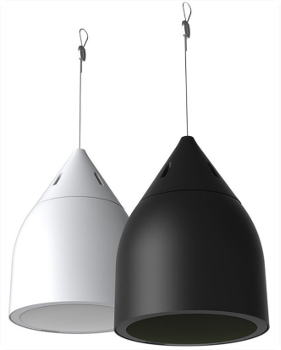 Figure 15 - Examples of pendant-look loudspeaker, courtesy of Biamp (Community Pro)